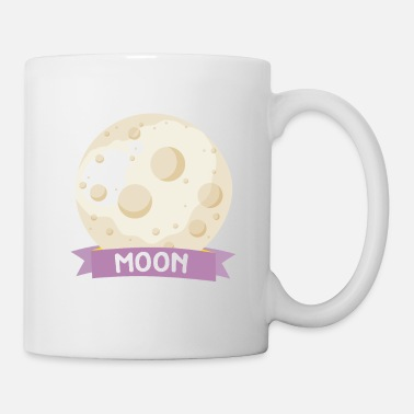 Rectangle Planet Moon Space gift - Coffee/Tea Mug