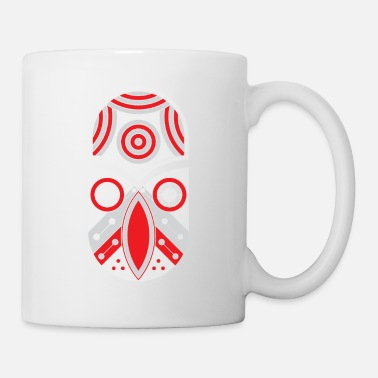 Rectangle ornamental aztec tribal - Coffee/Tea Mug