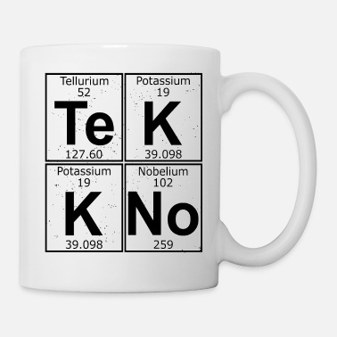 Goa Tekkno logo chemical elements - Coffee/Tea Mug