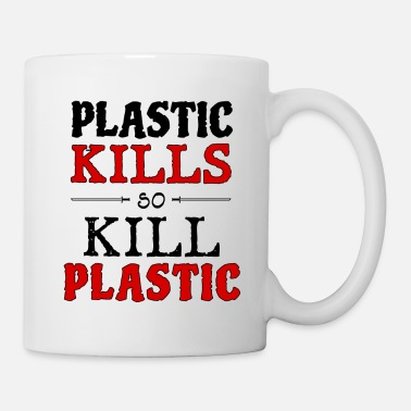 Animal Planet plastic kills - Coffee/Tea Mug