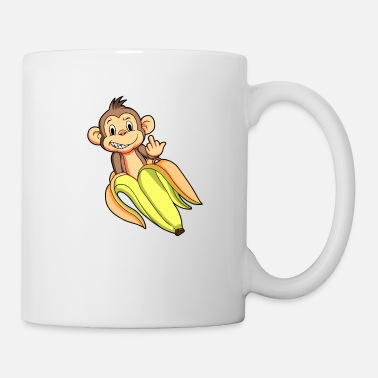 Dwarf FUCK YOU MONKEY WITH COOL ATTITUDE - Mug
