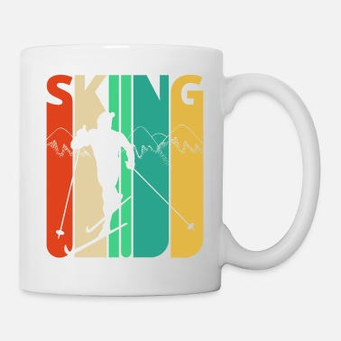 European Champion Awesome 70's Vintage Retro Skiing Gifts for Skiers - Mug