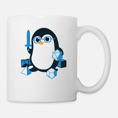 For Moms &amp Penguin the Penguin D&D - Mug