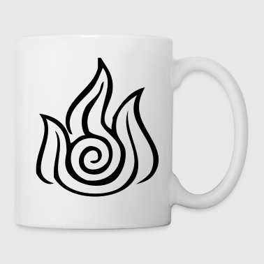 Fire Nation Symbol - VECTOR - Coffee/Tea Mug