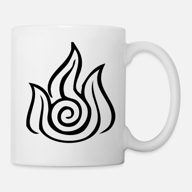 Avatar Fire Nation Symbol - VECTOR - Mug