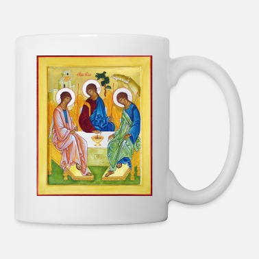 Church icon__peter_james_and_john_trinity - Coffee/Tea Mug