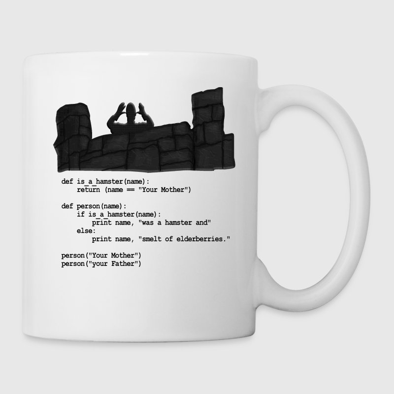 Python Code  - Your Mother was a hamster - Coffee/Tea Mug