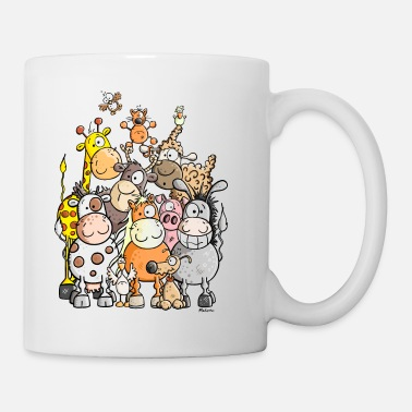 Zoo Giant Pile Of Animal - Mug