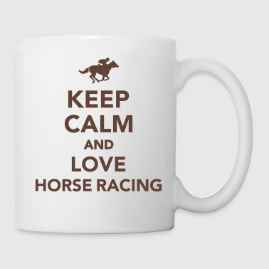 Horse Racing Horse racing - Coffee/Tea Mug