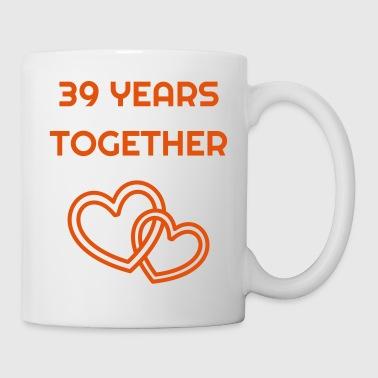 Marriage Mariage Wedding Anniversary 39 Coffee Tea Mug