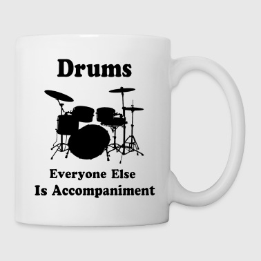 Drummer Percussion Music Gift Drums Quote - Coffee/Tea Mug
