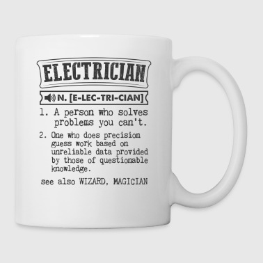 Electrician Definition Gift Mug - Coffee/Tea Mug