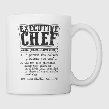 Executive Chef Definition Gift Mug - Coffee/Tea Mug