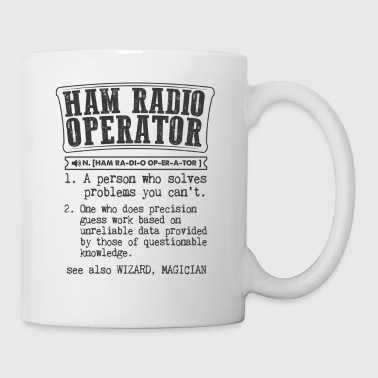 Ham Radio Operator Definition Gift Mug - Coffee/Tea Mug