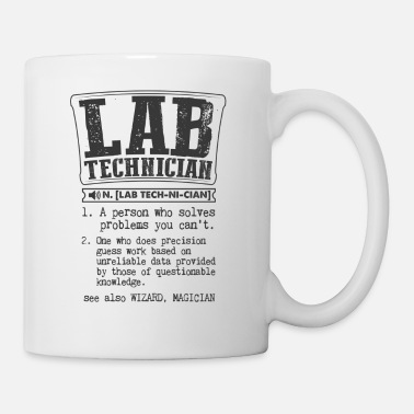 Technician Lab Technician Definition Gift Mug - Coffee/Tea Mug