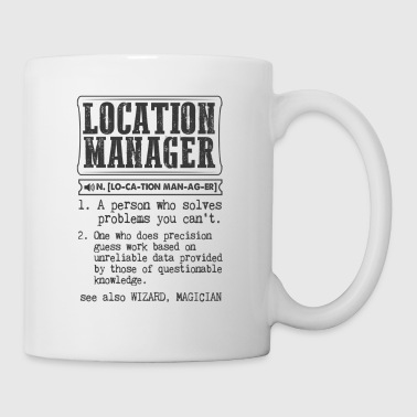 Manager Location Manager Definition Gift Mug - Coffee/Tea Mug