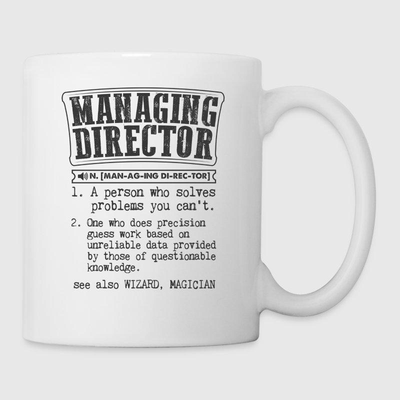 managing director definition gift mug by kamikaza spreadshirt