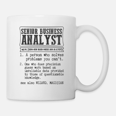 Business Senior Business Analyst Definition Gift Mug - Mug