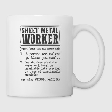 Sheet Metal Worker Definition Gift Mug - Coffee/Tea Mug