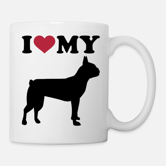 Animal Mugs & Drinkware - Boston Terrier - Mug white