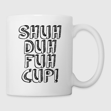 Shuh Duh Fuh Cup Scribble - Coffee/Tea Mug