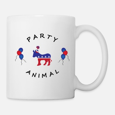 Democrat PARTY ANIMAL DEMOCRAT update 2 - Mug