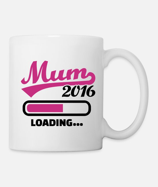 Pregnancy Mugs & Drinkware - Mum 2016 - Mug white