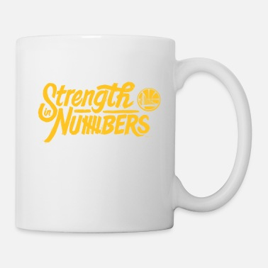 Golden State strength in numbers golden states - Mug