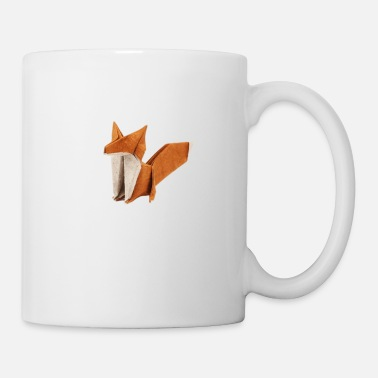 Origami fox origami - Coffee/Tea Mug