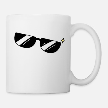 Sunglasses Sunglasses, black sunglasses - Mug