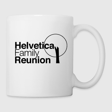 helvetica family reunion - Coffee/Tea Mug