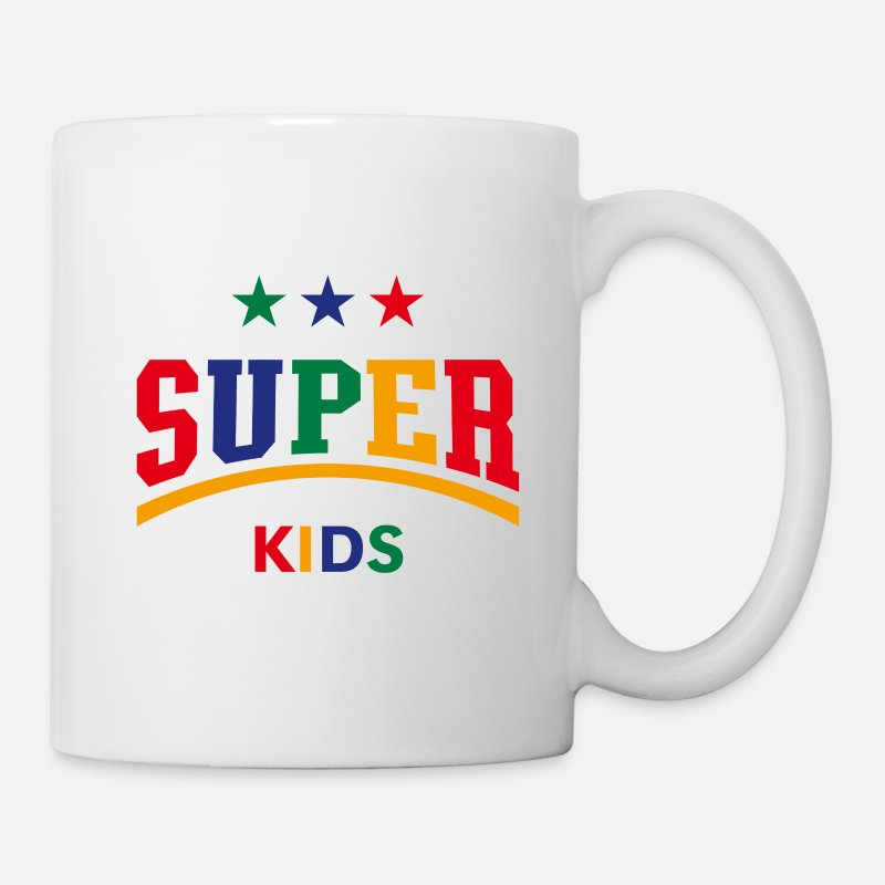 Birthday Mugs & Drinkware - Super Kids (PNG) - Mug white