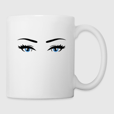 Blue eyes - Coffee/Tea Mug