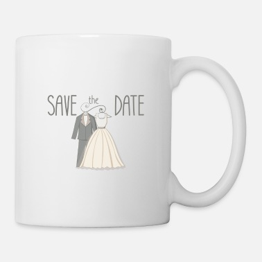 Date Of Birth save the date - Mug