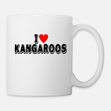 Light Kangaroo Lover Product I Love Gifts For Animal - Mug