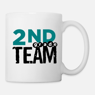 Require Bold 2nd Grade Team Teacher T Shirts - Mug