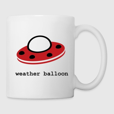 weather balloon - Coffee/Tea Mug
