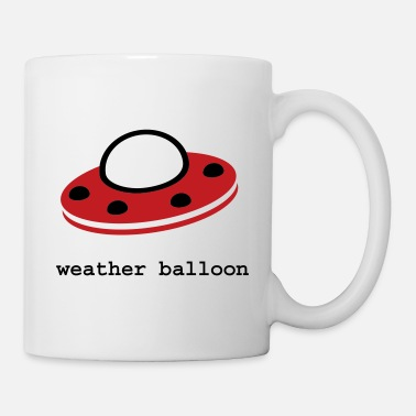 Ufo weather balloon - Coffee/Tea Mug