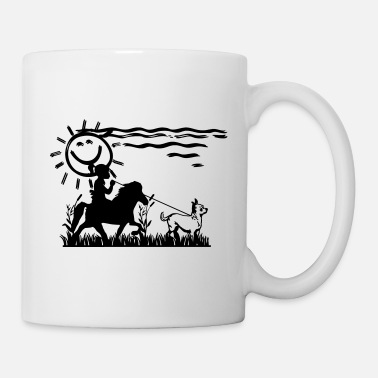 Horse Icelandic Horse: Pony Merch - Coffee/Tea Mug