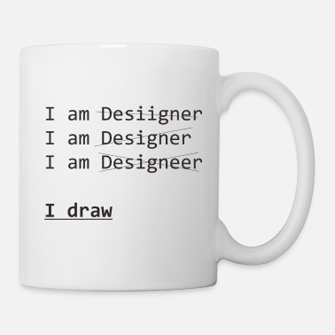 Drawing draw - Mug