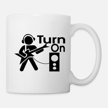 Turn On turn on the music - Mug