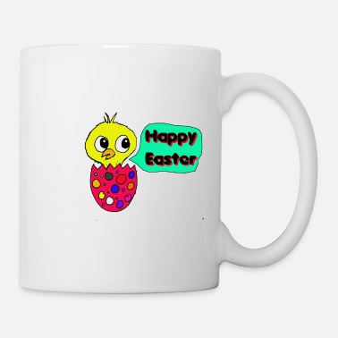 Forest chick happy easter egg - Coffee/Tea Mug