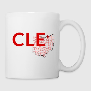 King Take a sip from cleveland - Coffee/Tea Mug