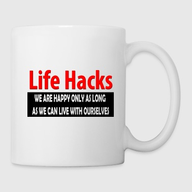Hack life hacks - Coffee/Tea Mug