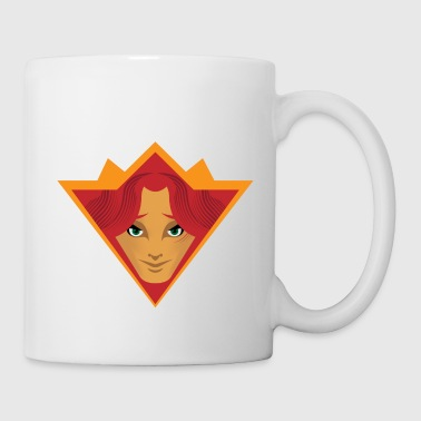 girl tribal - Coffee/Tea Mug