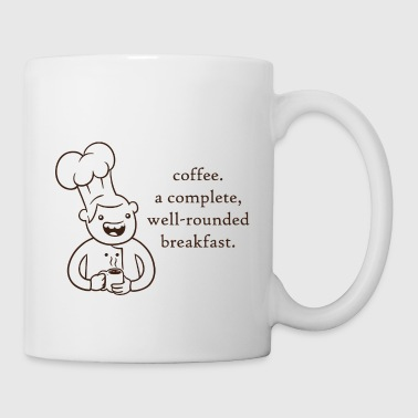 Coffee. A Complete Breakfast Mug - Coffee/Tea Mug