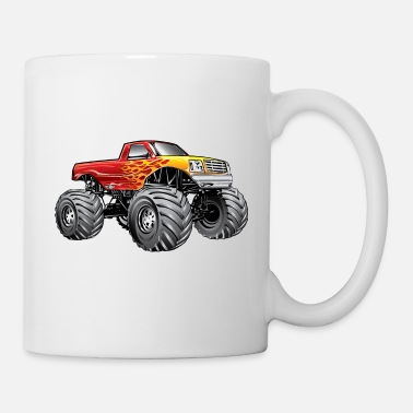 Truck Blazing Hot Monster Truck - Mug