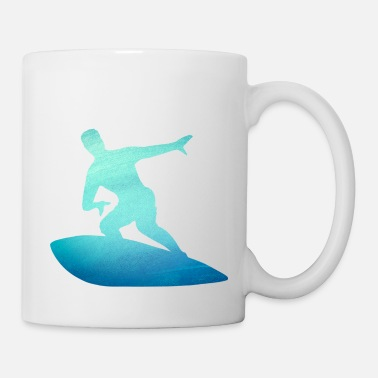 Hawaii Surfer Gift - Surf the Waves - Surfing Nation - Coffee/Tea Mug