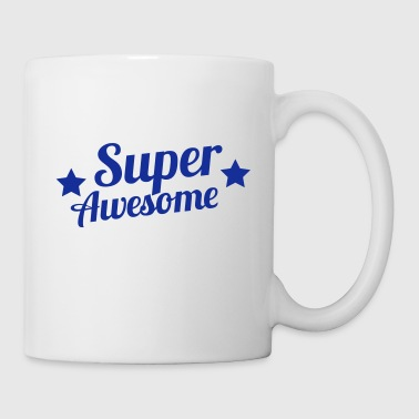 super awesome with stars - Coffee/Tea Mug