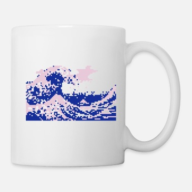 Japanese Pixel Tsunami - Coffee/Tea Mug